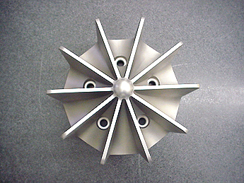 Aerospace stainless steel EDM impeller parts & component