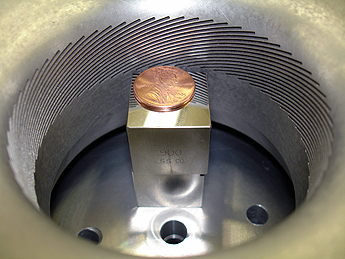 Conventional EDM Machining of an Aluminum Turbine Component