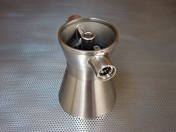 Wire EDM machined rocket nozzel for aerospace by Wire Cut, EDM job shop manufacturer