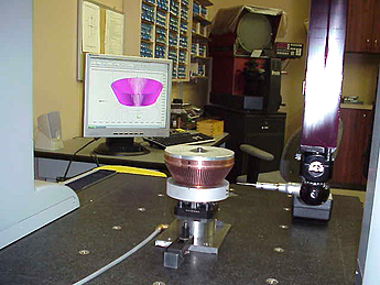 CMM machine used to inspect  Precision EDM parts and components